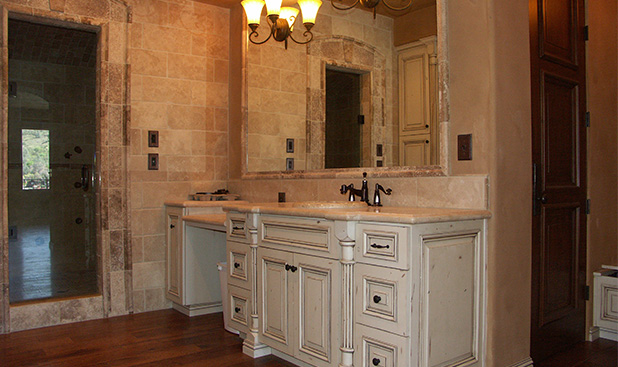 Painting And Distressing Bathroom Cabinets dickinson cabinetrycustom bathroom cabinetry,