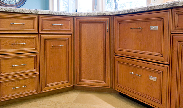 Dickinson CabinetryWood Cabinet Doors Wood Frames Kitchen Refacing